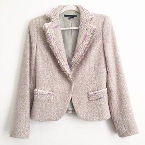 Zara Basic | Tweed Blazer Fully Lined